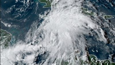 Tropical threat coming to Gulf ?