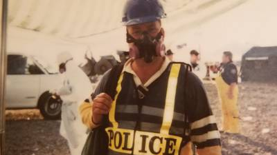 Retired NYC officer still fighting 9/11-related cancer