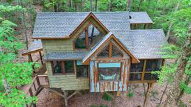 Spend the night at the treehouse of your childhood, adult dreams