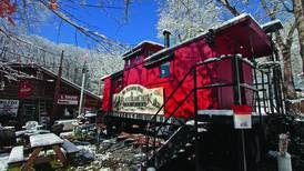 Stay in fully restored 1929 caboose in north Georgia mountains