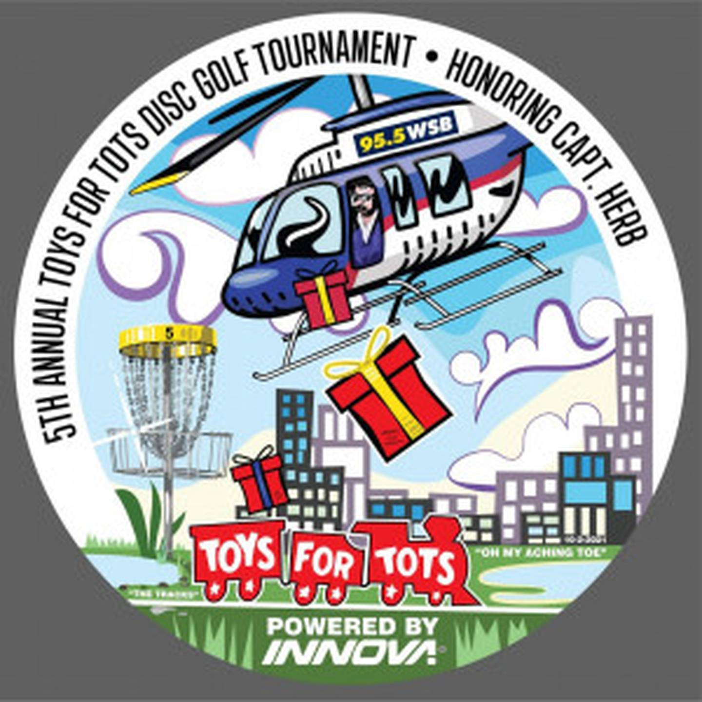 Toys for Tots Disc Golf