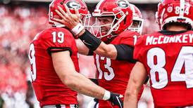 No. 2 Bulldogs drive past Blazers, 56-7 with offensive explosion