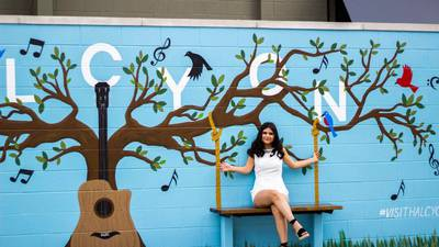 Metro Atlanta student completes new mural highlighting 'harmony'