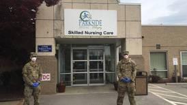 Georgia National Guard troops cleaning nursing homes to prevent coronavirus