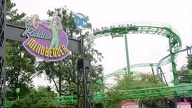 Six Flags unveils The Riddler Mindbender roller coaster