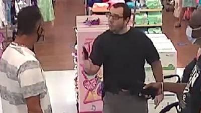 Maskless shopper pulls gun on masked man at Florida Walmart