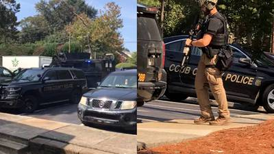 Shots fired during hostage situation at Cobb County apartment complex