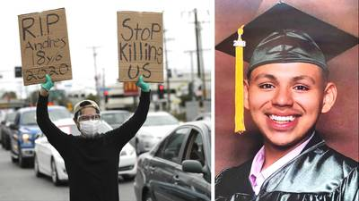 Andres Guardado: LA County deputy shot Latino teen 5 times in back, autopsies show