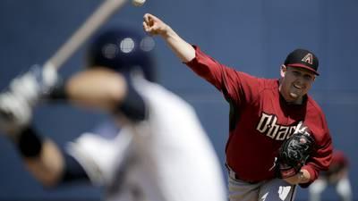 Braves trade for Diamondbacks starting pitcher Cahill