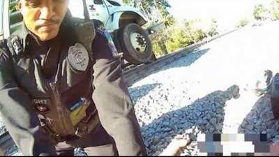 Dramatic video shows Conyers officers saving man's life after heart attack