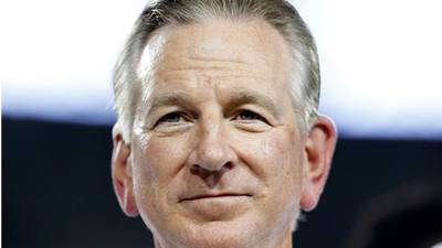 Ex-Auburn football coach Tommy Tuberville tops Jeff Sessions in Alabama primary