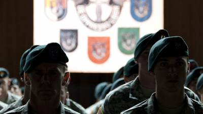 First female soldier graduates from elite Special Forces 'Q Course' to become Green Beret