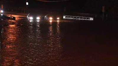 Heavy rain leads to flooded streets across metro Atlanta